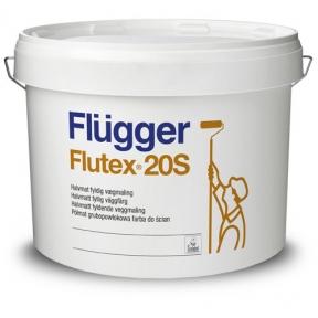 Flugger. Латексная акриловая краска Flutex 20