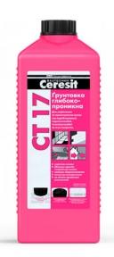 Ceresit CT 17. Грунтовка глубокопроникающая