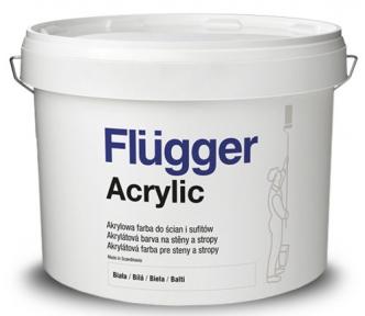 Flugger. Акриловая краска Acrylic, 10л